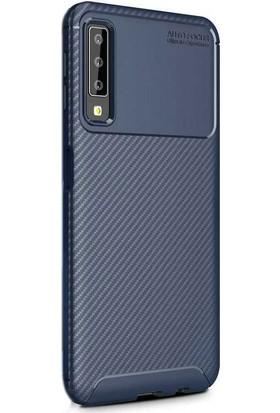 Gpack Samsung Galaxy A50 Kılıf Negro Karbon Dizayn Silikon