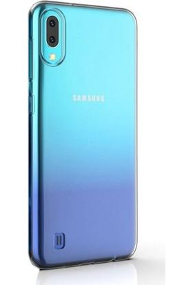 Gpack Samsung Galaxy A10 Kılıf Süper Sillikon Yumuşak Arka Koruma