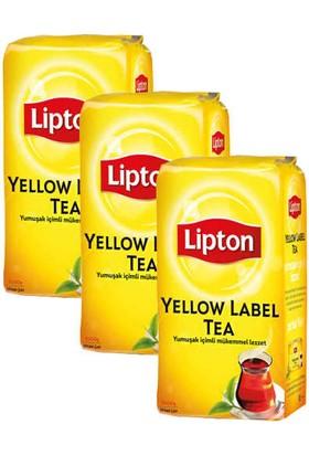Lipton Yellow Label Dökme Çay 1000gr X 3' lü