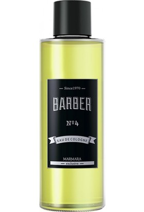 Barber NO 4 Eau De Cologne 250 ml Sprey