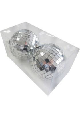 Miray Süs Disko Süsleme Topu Büyük 10 Cm 2 Adet