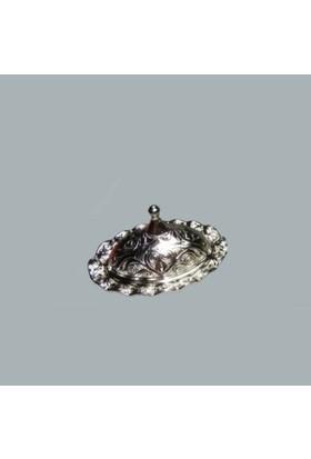 Miray Süs Lokumluk Oval Fırfırlı Gümüş 1 Adet