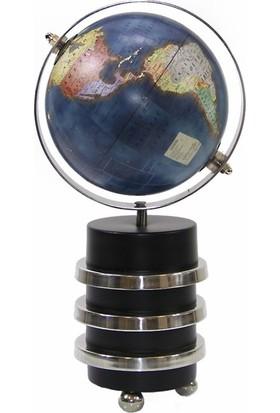 Dekorsende Dünya Küre Stantlı