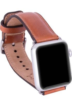 Bouletta Apple Watch Deri Kordon 38/40mm-Taba
