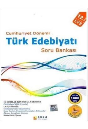 TYT Cumhuriyet Dönemi Türk Edebiyatı Soru Bankası