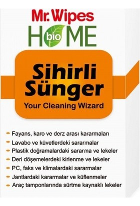 Farmasi Mr. Wipes Bio Home 3'lü Sünger