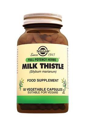 Solgar Milk Thistle 50 Kapsül