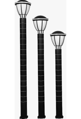 Zita Kupa Uzun Bahçe Aydınlatma Armatürü 80 Cm