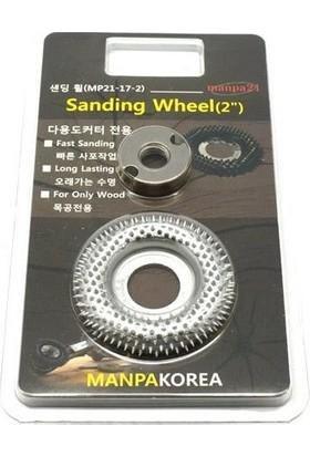 Manpa Mp21-17-2 Sanding Wheel 50 Mm Ahşap Törpü Zımpara