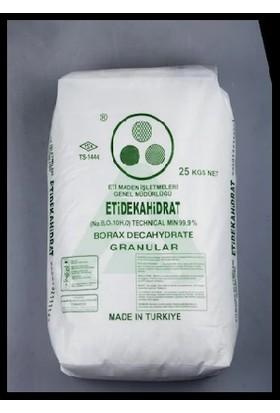 Eti Maden Boraks Dekahidrat Toz 25Kg