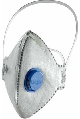 Drager 1720 Odour FFp2 Ventilli Aktif Karbonlu Kaynak Dumanı Ve Toz Maskesi