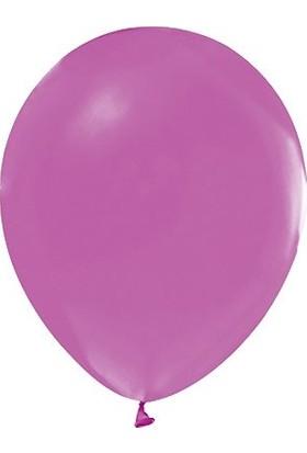 Party Marty Açik Viyolet Düz Renk Balon 25' li