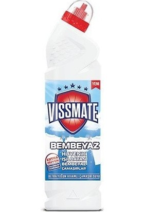 Vissmate Ultra Çamaşır Suyu Bembeyaz 750 ml