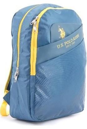 U.S. Polo Assn Sırt Çantası - PLÇAN8104 Mavi