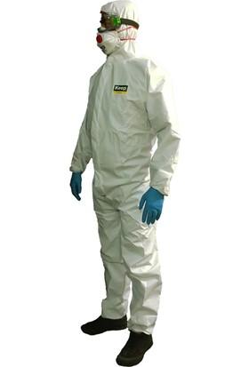 Keep Coverall Lamine Type 5/6 Kimyasallara Dirençli Tek Kullanımlık Tulum