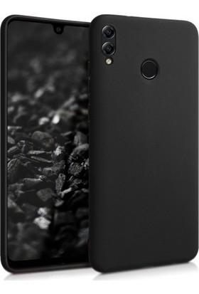 Case 4U Samsung Galaxy M20 Kılıf Mat Silikon Arka Kapak - Premier Siyah