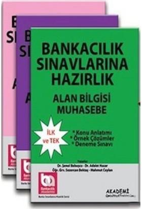 Banka Sınavlarına Hazırlık Üniversite Mezunları İçin Modüler Set 3 Kitap-Şenol Babuşcu