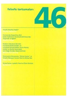 Felsefe Tartışmaları Sayı: 46-Ray Brassier