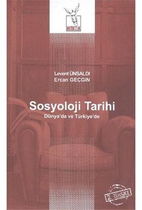 Sosyoloji Tarihi-Ercan Geçgin