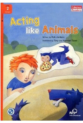 Acting Like Animals +Downloadable Audio (Compass Readers 2) A1-Rob Jordens