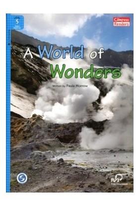 A World Of Wonders +Downloadable Audio (Compass Readers 5) A2-Paula Morrow
