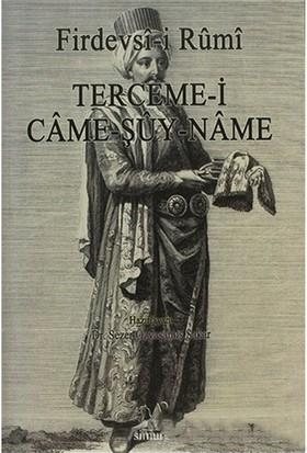 Terceme-İ Came-Şuy-Name-Firdevsi-İ Rumi