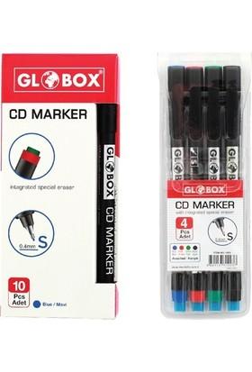 Globox Cd Kalemi S Siyah Tekli