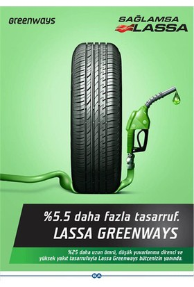 Lassa 195/65 R15 91H Greenways Oto Lastik (Üretim Yılı: 2020)