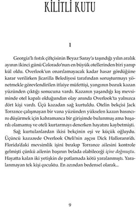 Doktor Uyku (Doctor Sleep) - Stephen King