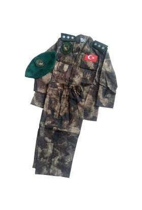 Konyalı Tekstil Erkek Çocuk Polis Özel Harekat Kiyafeti 5-6 Yaş