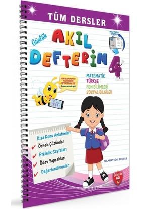 4. Sınıf Günlük Akıl Defterim Tüm Dersler