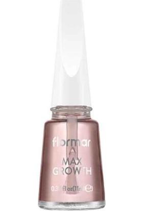 Flormar Max growth - Uzatıcı Etkili Tırnak Bakım Jeli 11ml