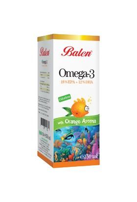 Balen Omega 3 Portakal Aromalı Balık Yağı
