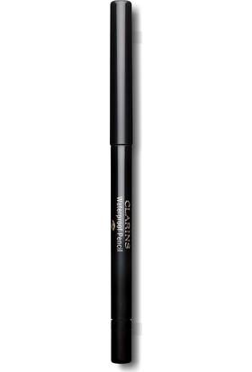 Clarins Waterproof Eye Liner Long Lasting Pencil 01 -Siyah