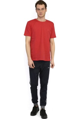 Slazenger Sander Erkek T-Shirt Kirmizi