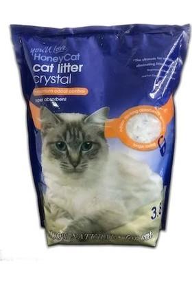 Honey Cat Kristal Silika Kedi Kumu 3,8 lt