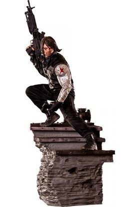 Iron Studios Captain America Civil War Winter Soldier Legacy Statue