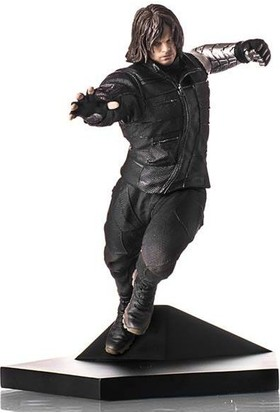 Iron Studios Captain America Civil War Winter Soldier Art Scale Statue