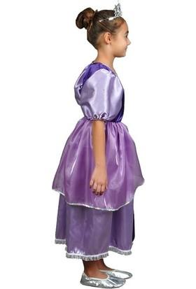 Annee Bakk Mor Prenses Rapunzel Kostümü