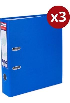 Tigra Plastik Klasör Geniş Mavi X 3 Adet