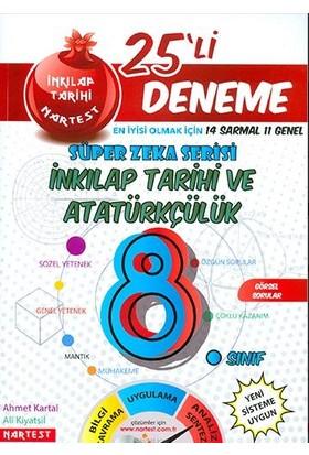 Nartest 8. Sınıf Nar T.C. İnkılap Tarihi Ve Atatürkçülük 25 Deneme Sınavı (14 Sarmal + 10 Genel)