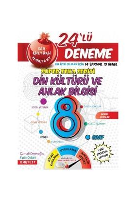 Nartest Yayınevi 8. Sınıf Nar Din Kültürü 24 Deneme Sınavı (14 Sarmal + 10 Genel)