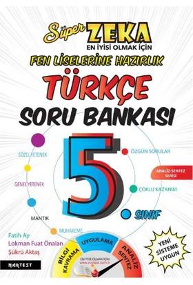Süper Zeka 5. Sınıf Türkçe Soru Bankası