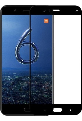 Happyshop Xiaomi Mi A1 (5X) Full Kaplayan Fiber Nano Ekran Koruyucu Siyah
