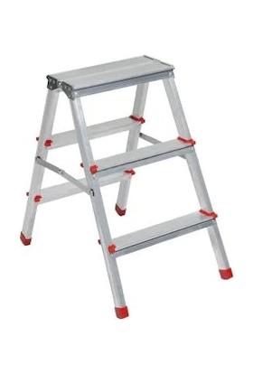 Asvera Çift Çıkışlı Profil Merdiven 3+3 Basamaklı