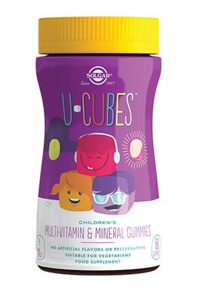 Solgar U Cubes MultiVitamin and Minerals 60 Tablet