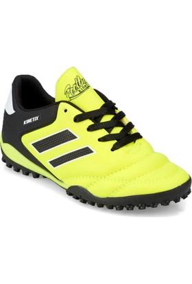 ee96720b5ee82 Kinetix Adolf Turf Neon Sarı Siyah Erkek Çocuk Halı Saha Ayakkabısı ...