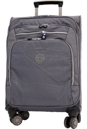 c7e67918a0a05 ... Bavul Ççs 411-3 Krinkle Kumaş 8 Tekerlekli Kabin Boy Valiz, Bavul
