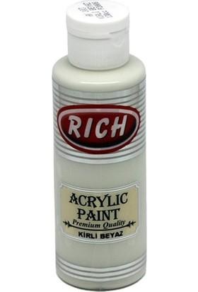 Rich Akrilik Boya 130 Cc Kirli Beyaz