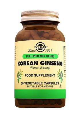 Solgar Korean Ginseng 50 Kapsül
